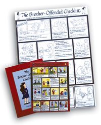 """Discover How to Teach Biblical Reconciliation & Forgiveness to Your Kids. The """"Brother-Offended Checklist"""" is a great hands-on tool so you can stop always being referee to your children. Always FREE shipping from www.HowToHomescholMyChild.com"""