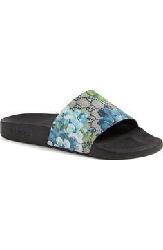 4a68c2d5373193 Gucci  Pursuit  72 Slide  Sandal available at  Nordstrom Gucci Mens Sandals