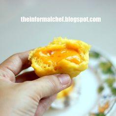 The Informal Chef: Liu Sha Bao/Salted Egg Yolk Custard Bun 黃金流沙包