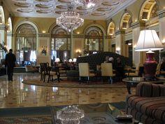 William Penn Hotel lobby