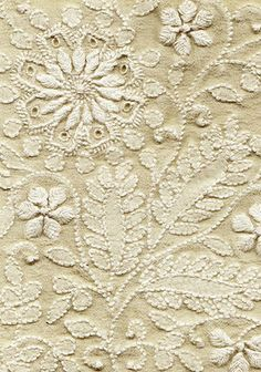 """Chikankari embroidery ~ fine art from India"" If you click the image there is a great article on the history and current stitchers of Chikankari embroidery. S"