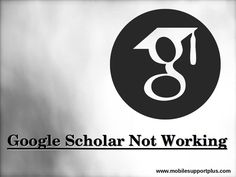 Facing issue with google scholar not working? Dial 1~844~353~5969 to fix issue google scholar not opening. Our executives will help you to resolve your issue instantly, 24/7. Contact us for any technical help related to google scholar not updating, not working etc. Not Open, Google Scholar, Company Logo