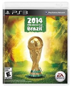 2014 FIFA World Cup Brazil PS3 Sony Playstation 3 Brand New Sealed