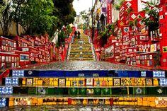 Casa Bellissimo Blog Artista Plástico Jorge Selaron Escadaria Selaron Santa Teresa Rio de Janeiro Arte Urbana (6)