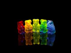 Awesome gummy bear picture... rainbow