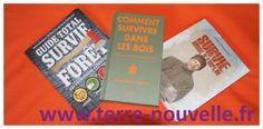 3 bons livres de survie