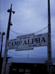 A sign that a lot of soldiers may remember, Camp Alpha, Saigon, Vietnam 1977 by Dr James Hughes | Flickr - Photo Sharing!