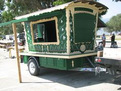 Gypsy Wagon Trailer for a stand - Instructables