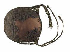 Borum Eshøj sprang hairnet. Found on a female bog body from the Borum Eshoj 'family' of bodies in Denmark. Horse hair?