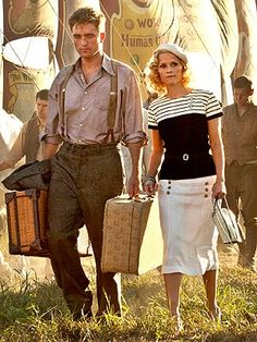 Just watched this movie.... not my favorite but Reese's outfits rocked. Water for Elephants.