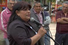 La intendenta de Carpintería a quien la UCR le hizo el reclamo formal por el agua potable