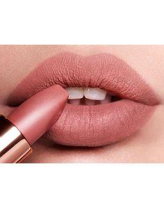 """Luminous Modern-Matte Lipstick / Charlotte Tilbury """"Pillow Talk"""" Matte Revolution lipstick"""