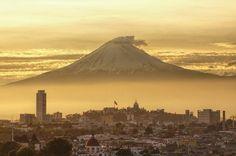 citygirlcool: Popocatépetl y Puebla / Popocatepetl and Puebla by alberto_rs on Flickr.
