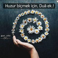Duâ, inen ve henüz inmeyen her musibet için faydalıdır. Kazayı sadece dua geri çevirir. Öyle ise sizlere duâ etmek gerekir. . ⚪ ⚫ ⚪ ⚫ #Allah #merhamet #hzmuhammed #namaz #nasip #huzur #kuran #inşirah #islam #mekke #hadis #dua #mevlana #Allahcc #tevekkül #dua #bismillah #melek #kunfeyekun #amin #elhamdulillah #dertetmeduaet #sevgi #kitapkurdu #ayetler #ilim #kitap #hayat #nasip #inşaallah #şefkat #huzur Instagram Names, Instagram Posts, Quotes To Live By, Life Quotes, Daisy Love, Success Quotes, Business Women, Islam, Inspirational Quotes