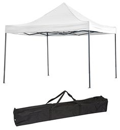 Trademark Innovations Lightweight Portable 13x13 Canopy Tent White -- You can get more details by  sc 1 st  Pinterest & Trademark Innovation Lightweight and Portable Canopy Tent Set 10 ...