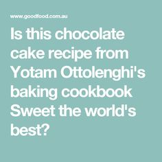 Yotam Ottolenghi on his baking cookbook Sweet, plus recipes for pistachio and rosewater semolina cake with candied rose petals (as seen on MasterChef Australia) . Baking Cookbooks, Semolina Cake, Masterchef Australia, Yotam Ottolenghi, Best Chocolate Cake, Pistachio, Cake Recipes, Deserts, Sweet