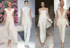 Da sinistra Atelier Aimee, Gucci, Gritti Spose, Oscar de la Renta. Foto via Instagram