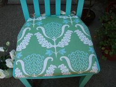 DIY: chair cushion