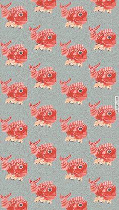 Japanese Karatsu Kunchi fastival inspired pattern iPhone Wallpapers