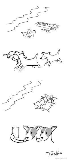 25 illustrations minimalistes, drôles et intelligentes de Shanghai Tango, qui vont vous faire réfléchir