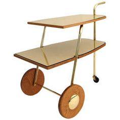 Mid-Century Modern Trolley or Bar Cart