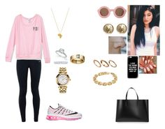 """Sally going to the airport from Danemark to Rio de Janero."" by princesscece6 ❤ liked on Polyvore featuring Casetify, Cartier, ASOS, Tiffany & Co., Versace, Calvin Klein, NIKE, Marni, Chanel and Victoria's Secret"