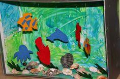 Kurz und gut - unsere Familiennotizen: Wir haben ein Aquarium Aquarium, Austria, Painting, Rug Hooking, Shoe Box, Handarbeit, Creative, Paintings, Aquarius