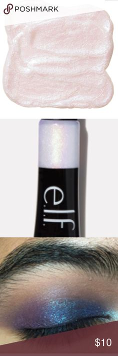 "NEW SEALED ELF TWINKLE PINK GLITTER GEL HIGHLIGHT No trades. BRAND NEW IN COLOR ""TWINKLE PINK"". This multi-dimensional liquid glitter is perfect for using as a highlighter, eyeshadow, eyeliner, or lip color for an instant pop of glitter on the skin. This glitter gel can be worn alone or on top of existing products to transform any matte or glossy texture to a sparkling metallic finish (SEE PHOTOS FOR IDEAS). Apply a small amount to face and blend in with our Liquid Highlighter Brush or…"