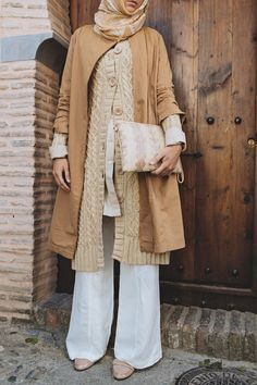 Layering Tip: layers are  great for transitioning through seasons. Featuring SHUKR Islamic Clothing and the Amira Long Cardigan