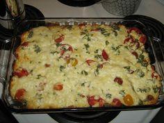 "Mediterranean Eggplant Casserole (""Moosewood Restaurant Cooking for Health"")."