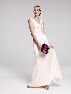 V-Neck Wedding Dresses