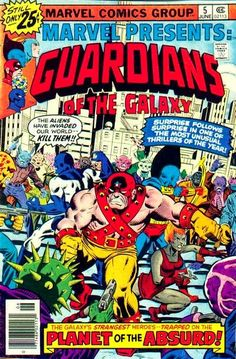 Marvel Presents the Guardians of the Galaxy #5.  Cover looks like Al Milgrom to me -- no signature