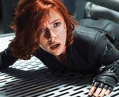 avengers  black widow gif | Black Widow