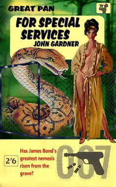 For Special Services by John Gardner - A fan made 007 cover James Bond Suit, Bond Suits, James Bond Books, James Bond Style, Comic Covers, Book Covers, Gothic Fantasy Art, Paperback Writer, Bond Cars