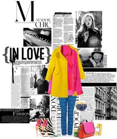 """""""Colores"""" by lacaro ❤ liked on Polyvore"""
