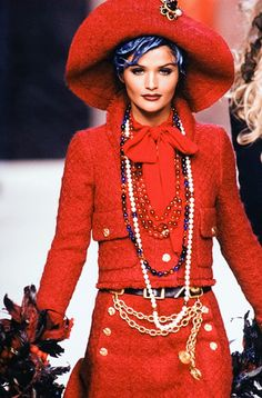 Helena for Chanel Haute Couture Fall/Winter 1992