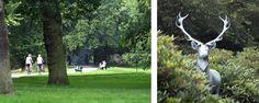 Bürgerpark und Elchstatue
