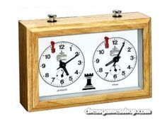 The Wood Aradora is a quality chess clock. Clock will run 24 hours on a single winding. The buttons on top are stainless steel and can be locked from the back - a great feature not found on many chess clocks! Chess Store, Luxury Chess Sets, Chess Books, Timer Clock, Buy Wood, Wooden Case, Chess Pieces, Online Games, Things To Come
