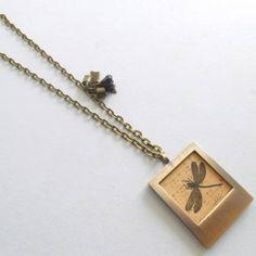 Collier porte photo libellule Arrow Necklace, Jewelry, Dragonfly Pendant, Pendant Necklace, Dragon Flies, Bijoux, Jewlery, Schmuck, Jewerly