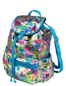 pics of justice bookBags   NWT! Girls Justice sequin backpack bling Super Sparkly! CUTE!!!