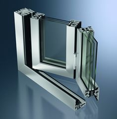 Sliding and stacking patio door / folding / aluminum / double-glazed ASS 80 FD.HI Schüco Barn Windows, Front Doors With Windows, Casement Windows, Aluminum Windows Design, Aluminium Windows, Sliding Door Systems, Sliding Doors, Window Design, Door Design