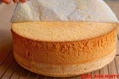 a perfect sponge cake, always successful Polish Desserts, Polish Recipes, Sweet Recipes, Cake Recipes, Sandwich Cake, Different Cakes, Sweet Cakes, Savoury Cake, Holiday Desserts
