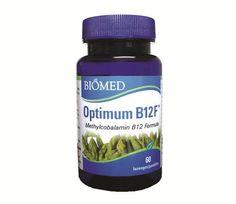Optimum B12F 60 lozenges Methylcobalamin B12, Juice Bottles, Coconut Oil, Jar, Health, Food, Products, Health Care, Meals