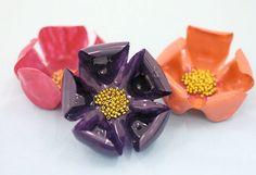 Van plastic flessen bloemen maken