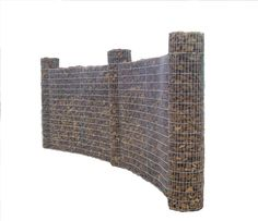 I love gabion fencing!