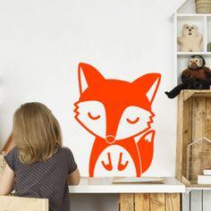 Stickers enfant animal : Oscar le Renard