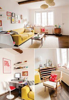 O designer gráfico, blogueiro e fotográfo Jan Skácelík vive na República Checa numa casa bem simpática!