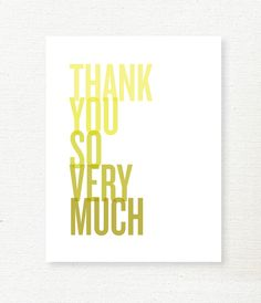 lemon squeezy: Free Download: Thank You Cards