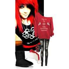 """I want someone to care for Christmas ~_~"" by xxmydyingbreathxx on Polyvore"