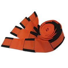 Newcomdigi 2Pcs Sangle de Levage Déménagement Protection Sangle Déménagement 2,72m x 4,5cm 250kg Portable Sécuritaire – Orange